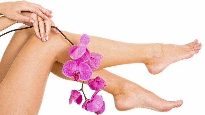 Гладкие и красивые ножки после депиляции