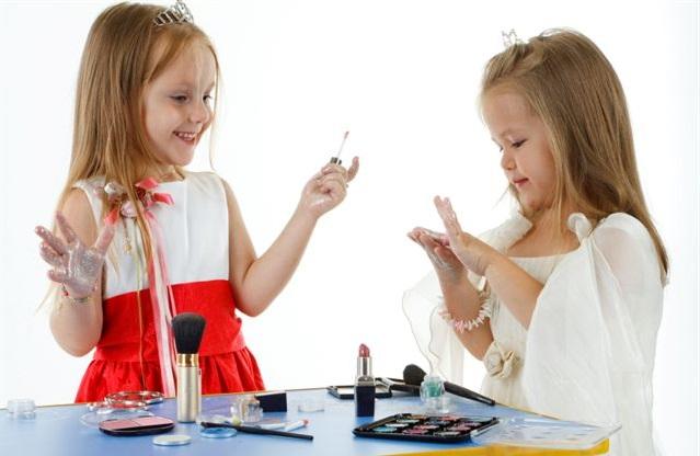 Детский макияж для наших девочек
