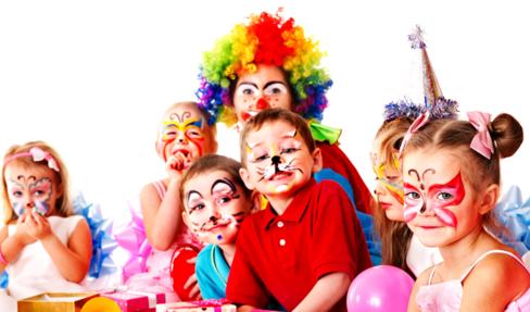 Макияж для детского праздника