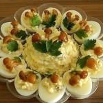 Простые рецепты куриных салатов «Дубок»