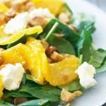 Рецепты куриных салатов с апельсинами