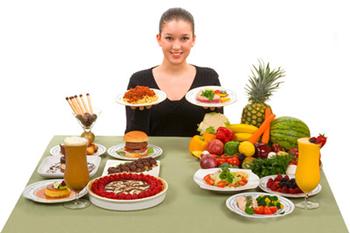 Сбрасывание веса при помощи основных правил здорового питания