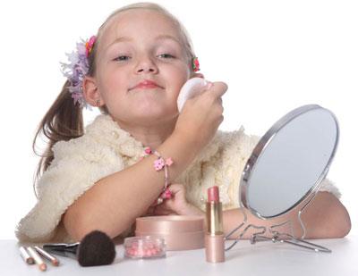 Сценический детский макияж