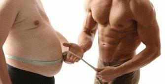 Здоровое питание для похудения мужчин
