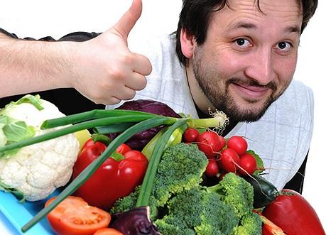 Здоровое питание меню на неделю для мужчины