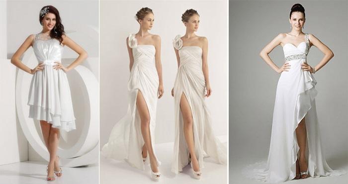 Особенности выбора платья для низенькой девушки