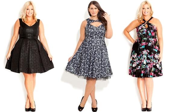 Выбрать платье для полной фигуры