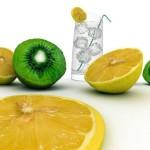 Лимонад из киви и лимона