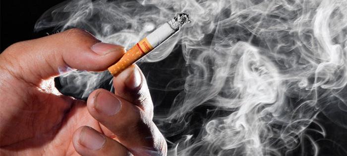 Влияние табачного дыма на окружение курильщика