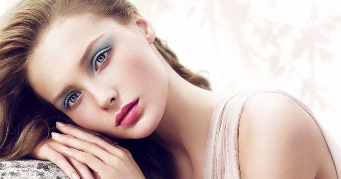 Модный и яркий макияж цветотип лето