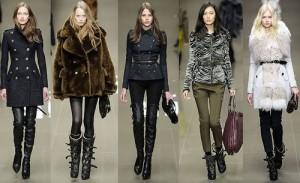 Обувь и одежда в стиле милитари