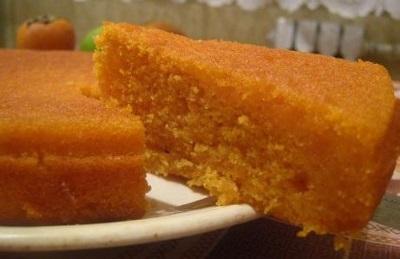 Тыквенный бисквит – вкусное лакомство