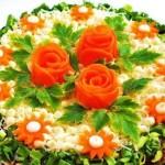 Украсьте праздничный стол печеночным тортом