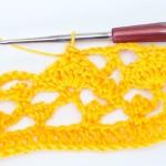 Вязание крючком салфетки