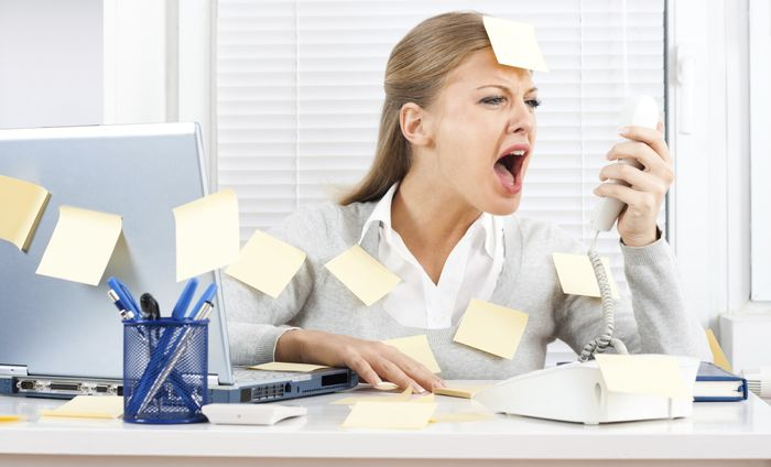 Снятие стресса на работе при помощи секса