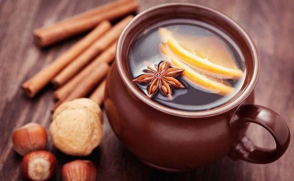 От простуды и для согрева напиток Глинтвейн