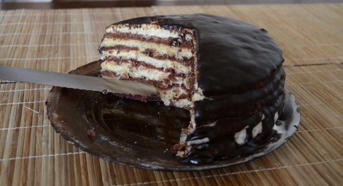 Торт Мишка – сметанное лакомство