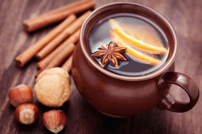Вкусный напиток Глинтвейн