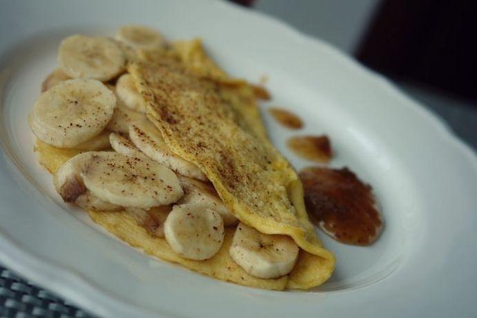Омлет с бананом – вкусное блюдо для детей и взрослых