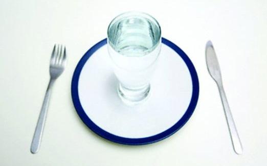 Полезная диета для ленивых на воде