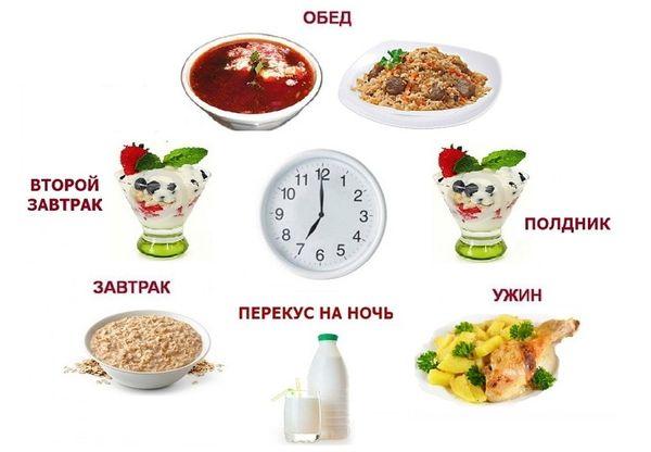 Правила и оптимальное количество приёмов пищи
