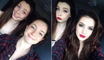Чудеса макияжа: девушки до и после макияжа