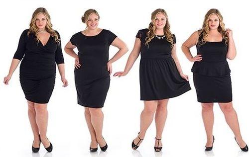 Как выбрать платье для полной фигуры