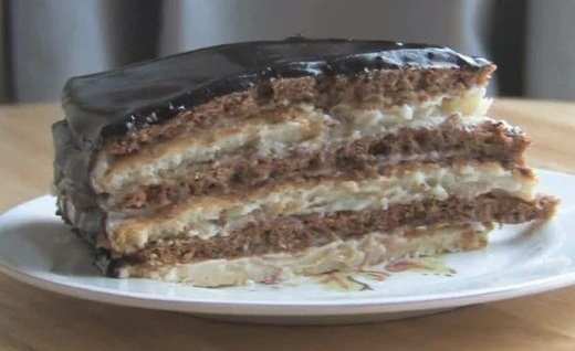 Торт Мишка – сметанное лакомство для всей семьи