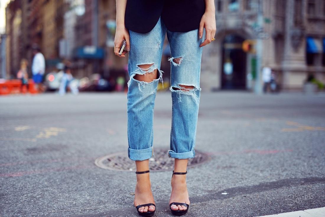 Как красиво порвать джинсы