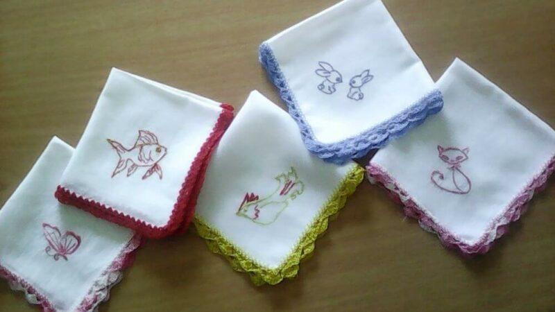 Как стирать носовые платки?